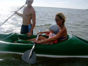 Kayak de mer : l'aventure en famille