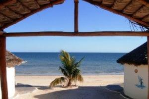 Les bungalows sont sur la plage
