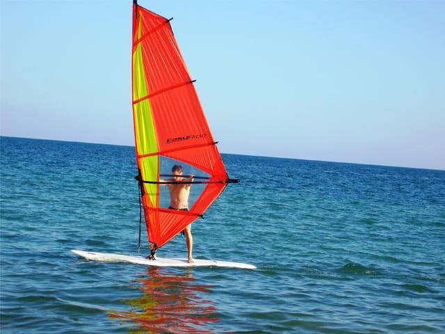 Kitesurf à l'hôtel de la plage Tuléar