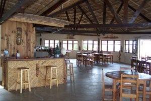 Restaurant de l'hôtel de La Plage Ifaty Tuléar