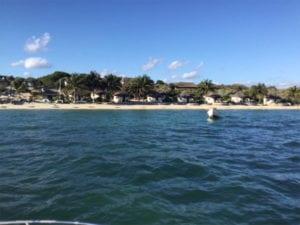 Vue bateau - Hôtel de la plage Ifaty